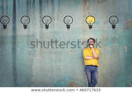 nyerő · ötlet · üzlet · terv · technológia · háttér - stock fotó © kentoh