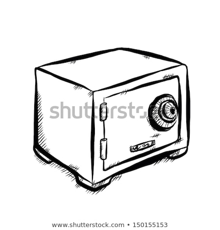 Safe, vault sketch icon Stock photo © RAStudio