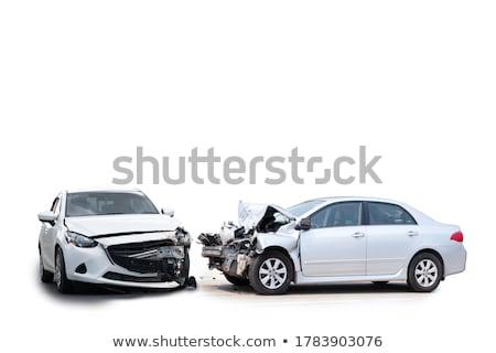 Uszkodzenie pojazd problemy drogowego kobieta samochodu Zdjęcia stock © cookelma