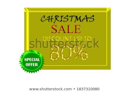 Limited Deal golden Vector Icon Design stock photo © rizwanali3d