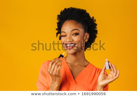 girl with lip gloss stock photo © svetography