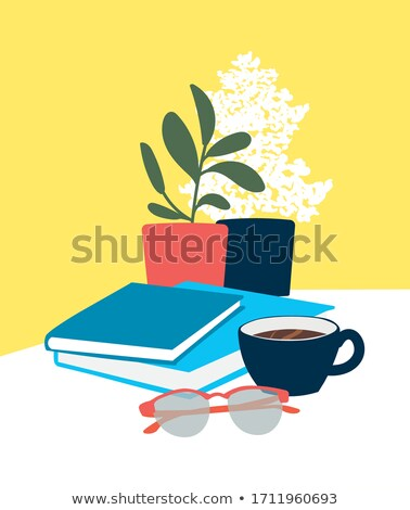 Cup of books with dollars Stock photo © Paha_L