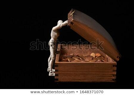 geld · man · hand · succes · voorraad · kopen - stockfoto © 3dart