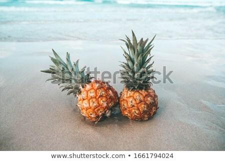 Two Pineapple Stock photo © alrisha