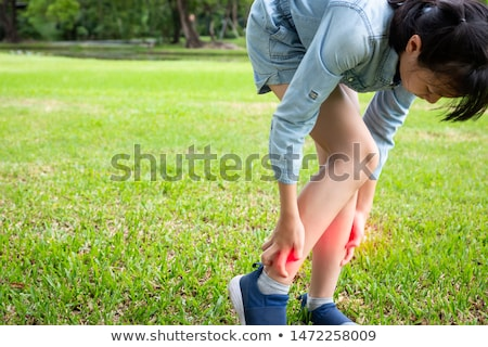 Little girl with ringworm on body Stock photo © bluering