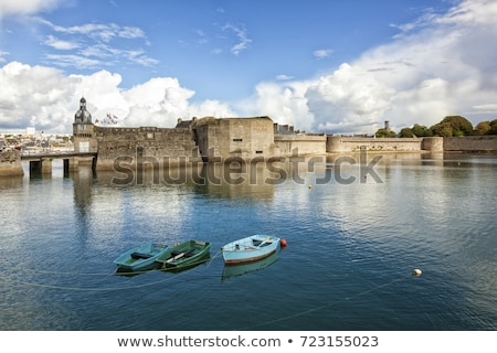 Concarneau in Brittany Stock photo © prill