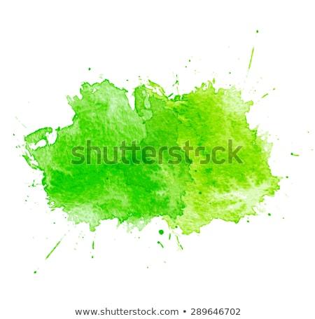 Geel · vector · aquarel · element · voorjaar · verkoop - stockfoto © blumer1979