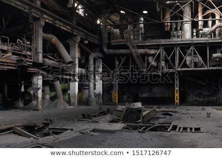 abandoned old factory stock photo © zurijeta