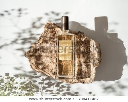 perfume bottle over white Stock photo © kayros