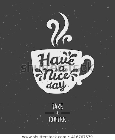 Stockfoto: A Cup With Tea And Text Tea Day
