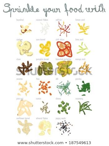 бежевый · стилизованный · листьев · текстуры - Сток-фото © blackmoon979