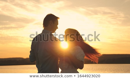 Woman and man dancing salsa in summer park Stock photo © Kzenon
