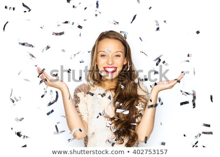 Attractive girls in fancy dresses Stock photo © Aikon