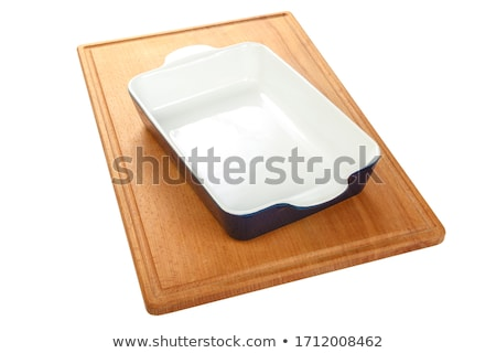 White ceramic baking dish Stock photo © Digifoodstock