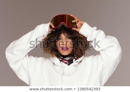 snowboard · fotó · snowbordos · sport · tél · hó - stock fotó © monkey_business