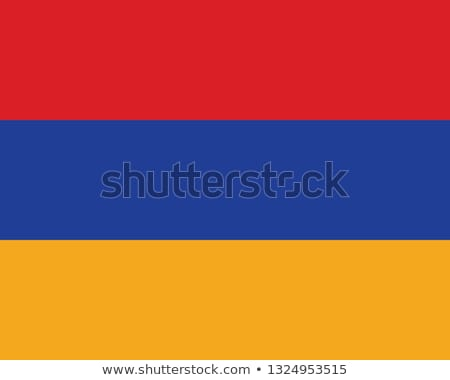 Flag of the Republic of Armenia Stock photo © bestmoose