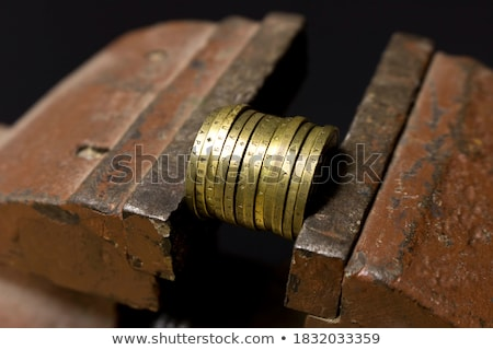 Vise Grip and coin Stock photo © devon