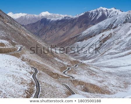Himalaya Inspirational Landscape Valley Road view Stock photo © blasbike