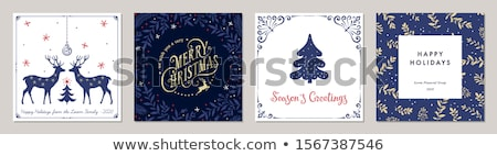 christmas · banners · decoraties · ontwerp · leuk · star - stockfoto © milsiart