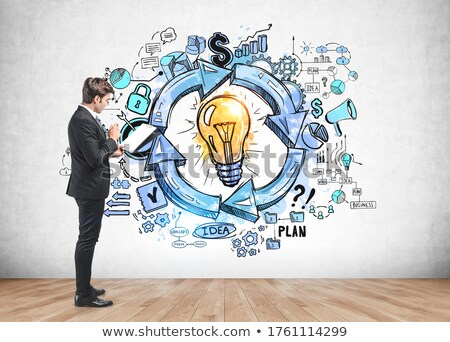 Criador empresário escrita clipboard escritório negócio Foto stock © wavebreak_media