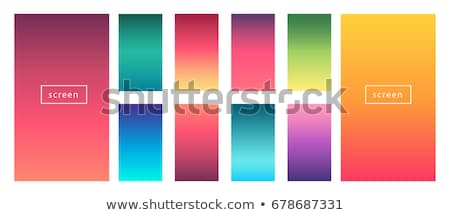 yumuşak · renk · modern · ekran · vektör · dizayn - stok fotoğraf © sarts