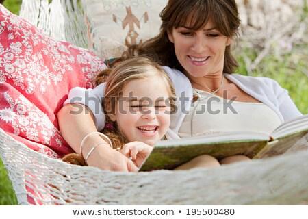 小さな 子供 草 家族 ツリー ストックフォト © IS2