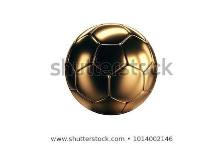 Russia soccer ball trofeo simbolo illustrazione 3d Foto d'archivio © Wetzkaz