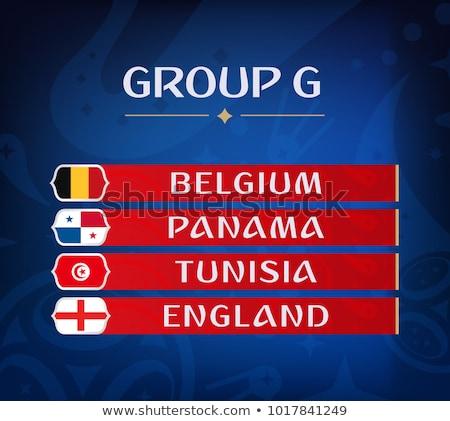 grupo · russo · futebol · evento · país · bandeira - foto stock © cienpies