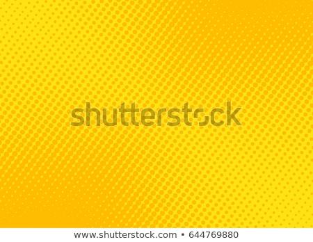 Yellow halftone background Stock photo © studiostoks