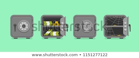 Money Box and Safe Bank Set Vector Illustration Stock photo © robuart