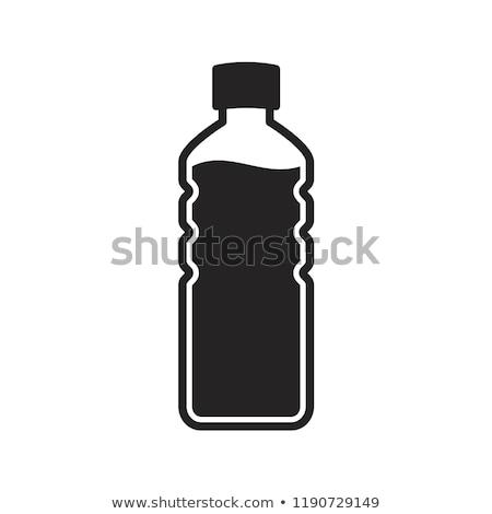 bottle icon symbol line vector stock photo © blaskorizov