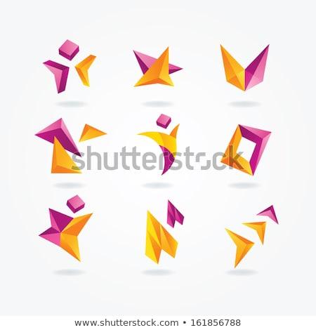 teknoloji · logo · soyut · renkli · vektör · ikon - stok fotoğraf © blaskorizov