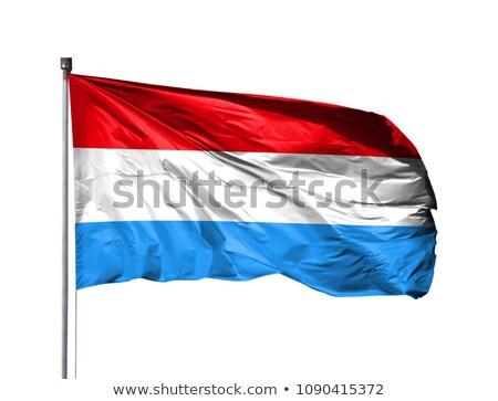 Luxemburg vlag geïsoleerd witte geven Stockfoto © daboost