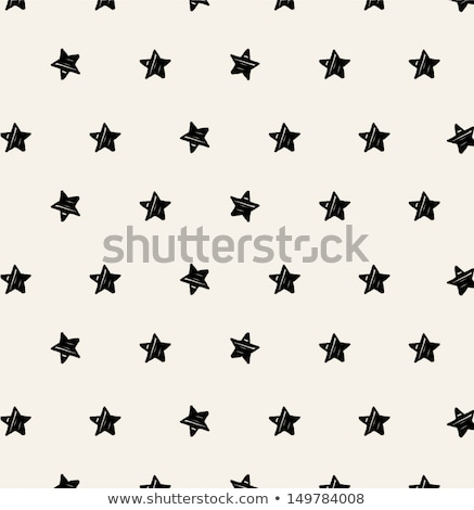 Cute pastel floral pattern. Vector hand drawn illustration. stock photo © lemony