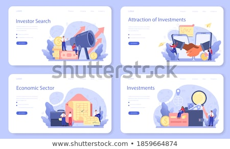 Finance Searching of Investors New Business Ideas Stock photo © robuart