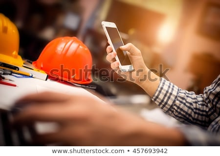 Builder Phone Concept Stock photo © Krisdog