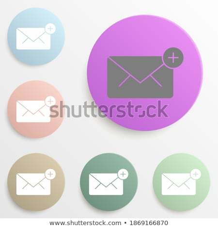 concept unread email message notify set vector stock photo © pikepicture