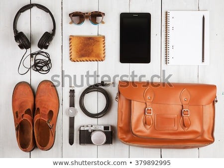 tourist concept set of things for traveling stock photo © robuart