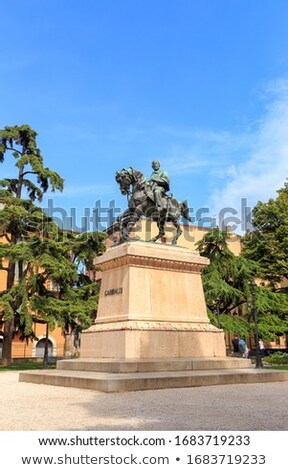 Monument to Giuseppe Garibaldi by Pietro Bordini at Independence Stock photo © boggy
