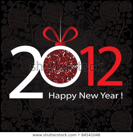 Happy new year 2012 stock photo © designsstock