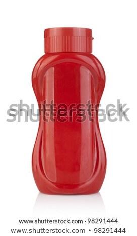 plastic ketchup bottle Stock photo © shutswis