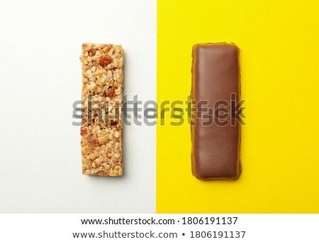Foto stock: Nozes · comida · bar · doce · sobremesa