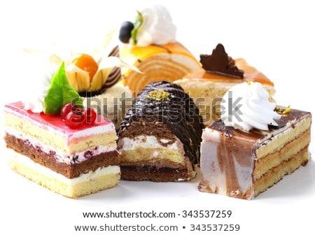 vacances · dessert · buffet · délicieux · chocolat · fruits - photo stock © art9858
