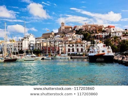 Ibiza from balearic islands in Spain Stock photo © lunamarina