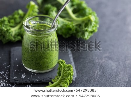 fresh raw kale Stock photo © M-studio