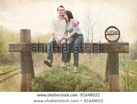 ongebruikelijk · foto · vrouw · naar · camera · geïsoleerd - stockfoto © neonshot