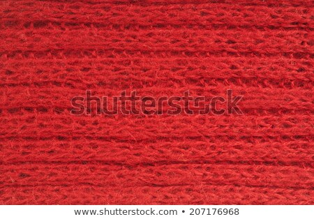 texture of red cashmere cloth Stock photo © OleksandrO