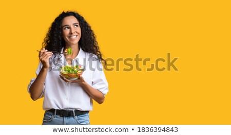 salad in studio Stock photo © cynoclub