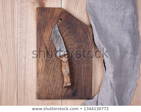 old kitchen knife stock photo © jirkaejc