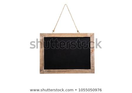 Isolated Blackboard Stock photo © gemenacom